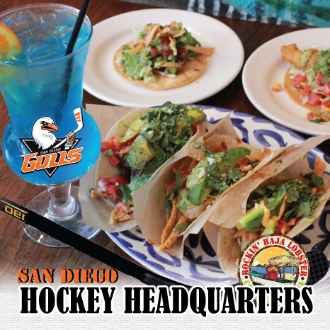 San Diego Hockey Headquarters - Rockin' Baja Lobster Old Town