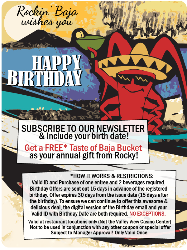 birthday offer for subscribers