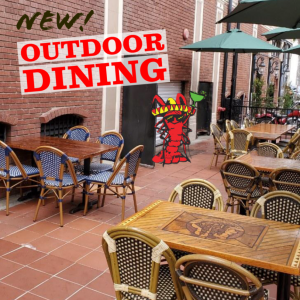 Newport beach Outdoor Dining