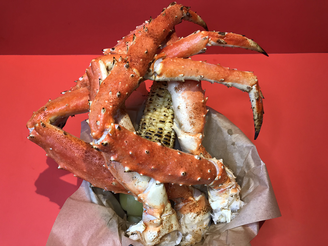 Rockin Crab Bucket