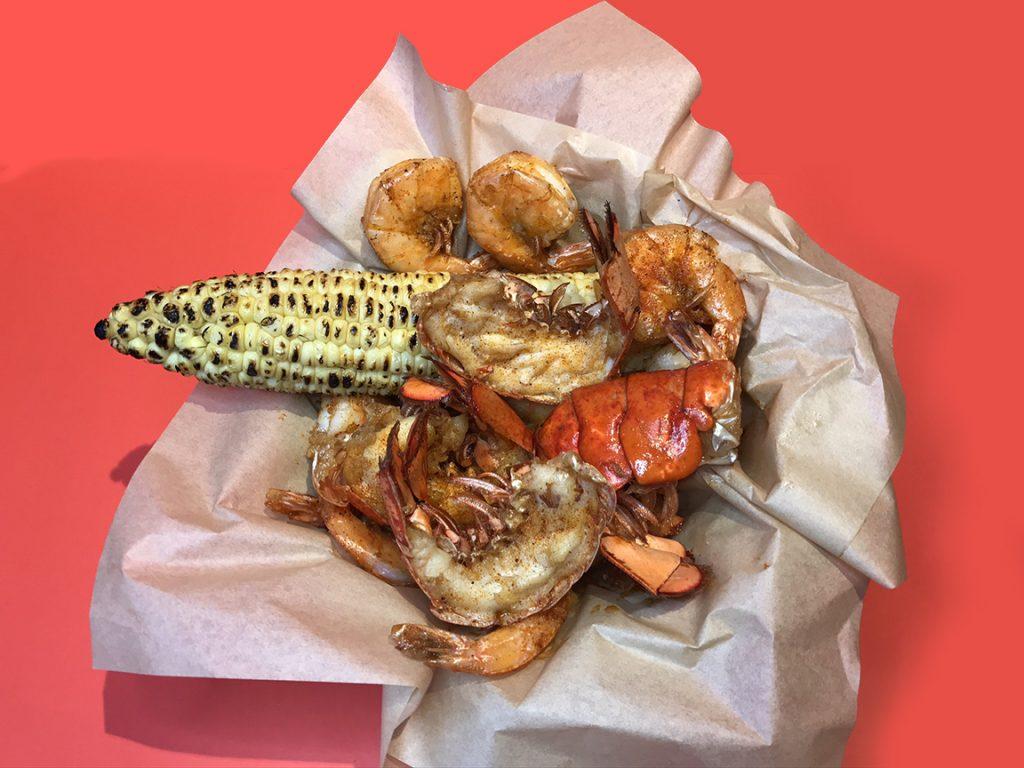 Rockin Shrimp Lobster Bucket