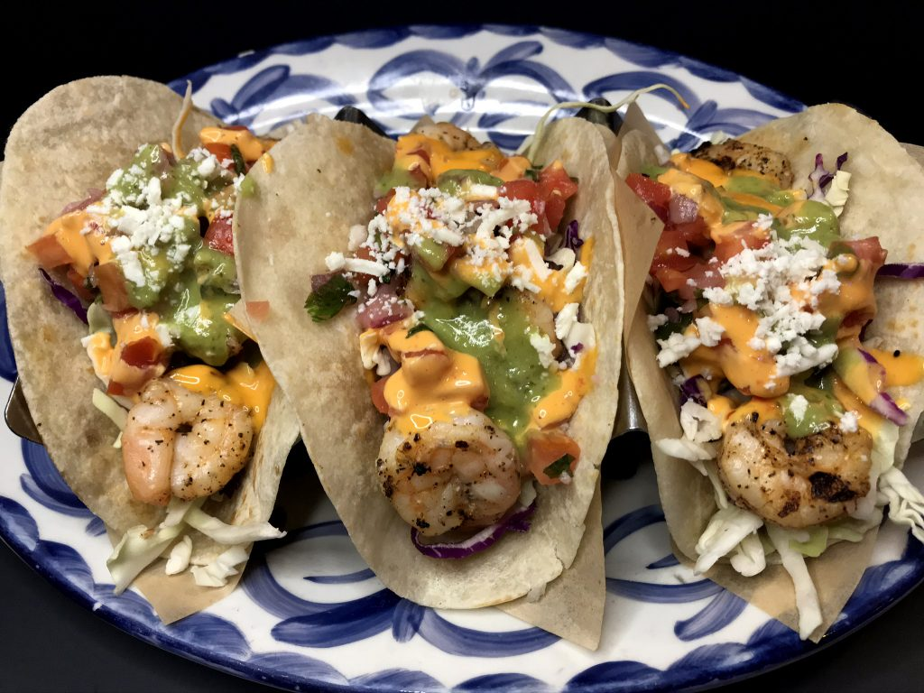 Fire Grilled Shrimp Taco