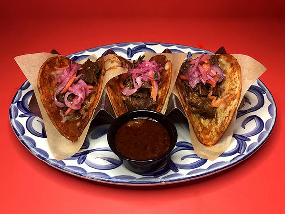 Short Rib Tacos de Birria
