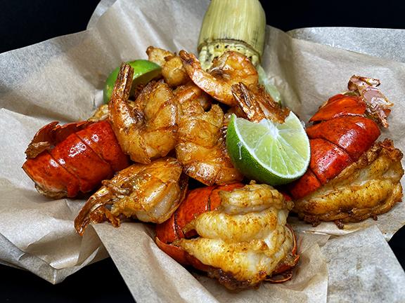 Rocking shrimp lobster Bucket