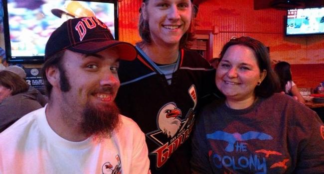 Happy Hockey Fans at Rockin' Baja Old Town!